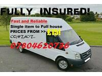 Man an Van From £15 Single item to Full House (Fully Insured)
