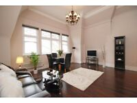 Luxury interior designed one bedroom apartment with off-street parking.