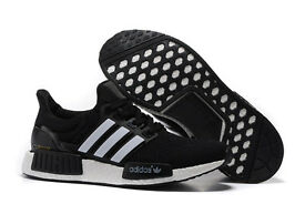BRAND NEW – Mens Adidas NMD x Ultra Boost Running Trainers Triple Boost Black White – SIZE UK 9.5