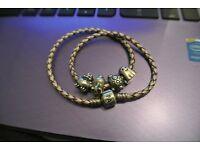Pandora Bracelet & 4 charms