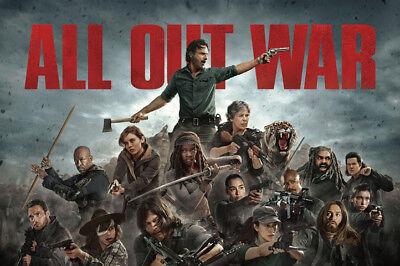 Art Poster The Walking Dead Season 8 USA 36 27x40inch Wall Silk N604