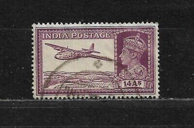 Timbres - INDE - 154A (o) - George VI - méthodes de transport du courrier (14)