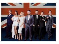 4 Britain's got talent tickets London 1st feb
