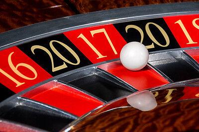 1/2 iNCH Casino Grade Roulette Ball - 2 pieces