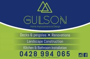 Gulson Home Improvements- Private and Subcontracting