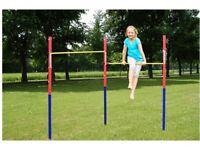 Hudora Kid's Fabian Double Horizontal garden Bar gymnastics monkey bars