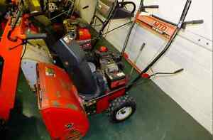 Snowblower Service Tech.  Fix here or there!