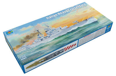 Trumpeter 9365347 Schwerer Kreuzer Zara-Klasse 1:350 Kriegsschiff Modellbausatz