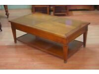Beautiful Brigitte Forestier cherrywood coffee table in very good condition