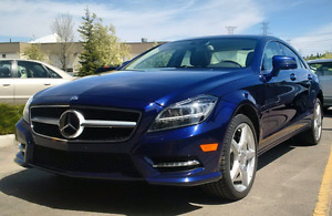 2012 CLS550 - Designio Blue (Rare Colour!) - Ext Warranty Active