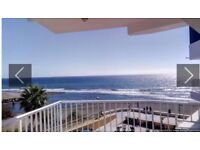 Frontline Beach 2 beds Apartment with Stunning Sea Views in Spain