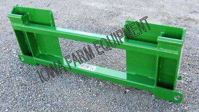 Skid Steer To John Deere 200300400 Series Loaders Quick Attach Adapter