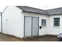 Office/workshop/storage/studio unit to let with car parking. Dorking, Surrey Hills area.