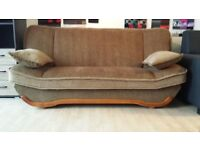 New sofa bed Lodka 2 Sofa bed with storage, Amk Furniture, Double bed wersalka Polskie wersalki