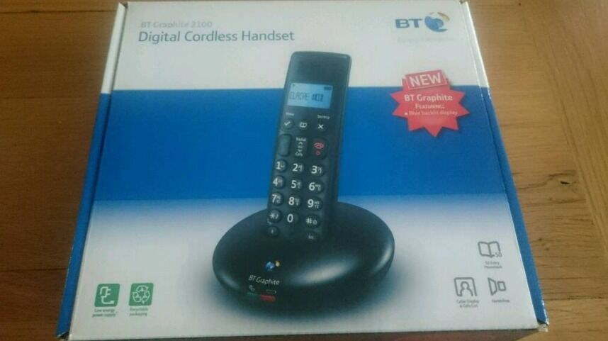 BT Graphite 2100 Digital Cordless Handset