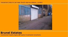 1000sq ft Industrial Unit to Let near South Harrow station - £265/ week