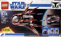 NEW LEGO STAR WARS 7752 COUNT DOOKU'S SOLAR SAILER 385 PIECES