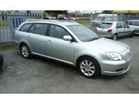 2004 TOYOTA AVENSIS ESTATE 1.8cc..( NOW £999 ono TO CLEAR )