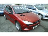 2003 PEUGEOT 206 1.6 ( BEST OFFERS TO CLEAR )