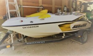 2008 Sea Doo Speedster150 215hp Boat and Lift