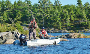 BEST FISHING BOATS- Super Stable & Portable - Boat in a Bag