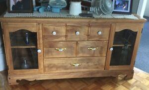 2 Buffets de style rustique antique