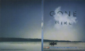 Gone Girl-Blu-Ray-Excellent condition + bonus Blu-Ray
