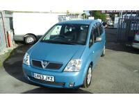 2003 Vauxhall Meriva 1.6i Life NEW MOT & ONLY 79K