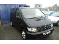 2002 Mercedes-Benz Vito 2.2TD 108CDi..( £1400 or BEST OFFERS )