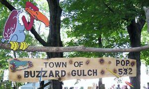 Affiches Enseigne Panneaux en bois Western wooden signs