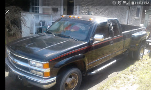 90 chev tow truck