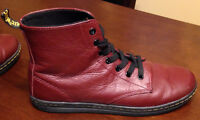 Women's LEYTON cherry ankle booties - Dr. Marten's - LOWER PRICE