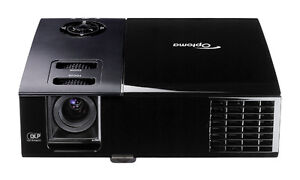Optoma Projector and 105 inch screen