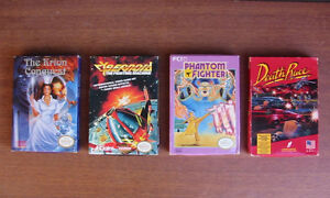 4 boxed games for Nintendo NES