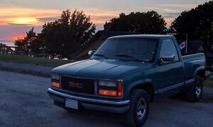 1993 GMC Sierra 1500 Stepside SLE V8 305 4000$ OBO