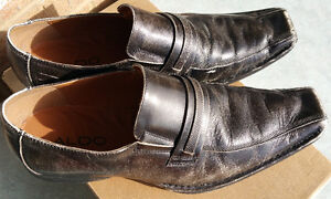 Aldo Mens Dress Casual Shoes American Eagle Leather Size 10 - 11
