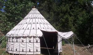 20' diameter Moroccan Tent  RARE FIND