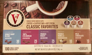 New 100 pack variety box of K-Cups