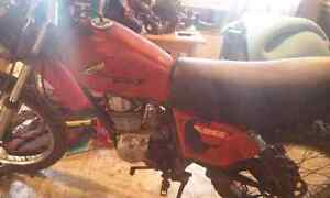 1980 HONDA XL 125S. WITH BRAND NEW TOP-END