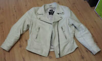 For sale: Ladies White Leather Chaps & Jacket