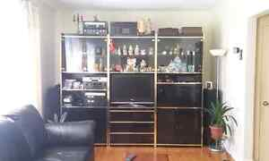 Hutches / TV Stand / 3 Big shelving display cabinets