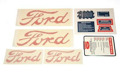 Ford 8n Tractor Decal Kit Set For 1950 To 1952 W Proofmeter Tach 8n5052dp