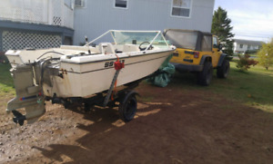 16 feet boat for sale or trade
