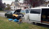 24 Hr. INEXPENSIVE MOBILE AUTOMOBILE REPAIRS
