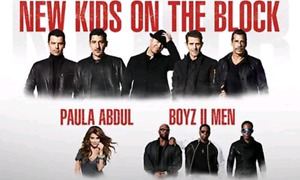 2 Tickets: New Kids on The Block Concert