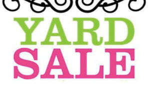 YARD SALE! Sunday 9-2pm 18 Valley Street EAST