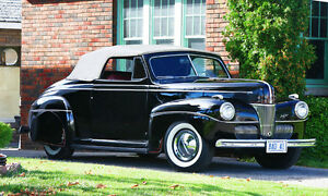 1941Ford Super Deluxe Convertible Flat Head Old School