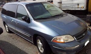 1998 Ford Windstar Minivan, Van