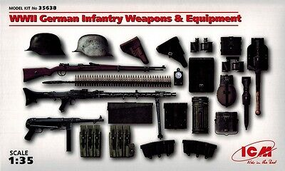 ICM 35638 - WWII German Infantry Weapon and Equipment - 1:35