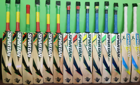 SS, SG, MRF, HS, CA, TON, SPARTAN AND MANY MORE BRANDED CRICKET BATS